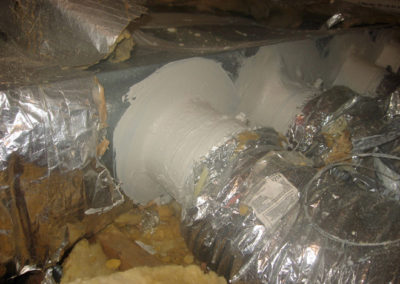 Mastic Paste Sealed Duct Work