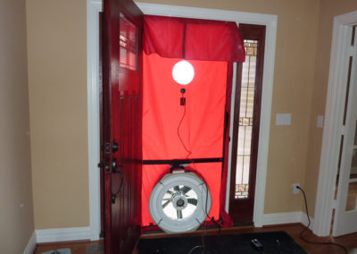 Whole Home Blower Door Testing