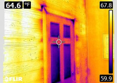 2Infrared Reveals Easy to Seal Air Leaks